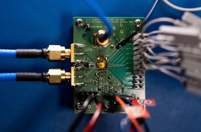 Researchers Create World's Most Power-Efficient High-Speed ADC Microchip